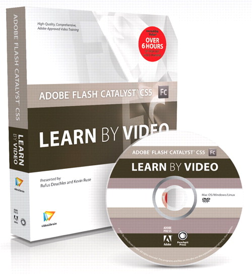 Adobe Flash Catalyst CS5: Learn by Video, Online Video