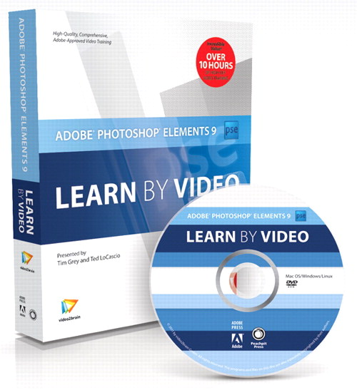 Adobe Photoshop Elements 9: Learn by Video