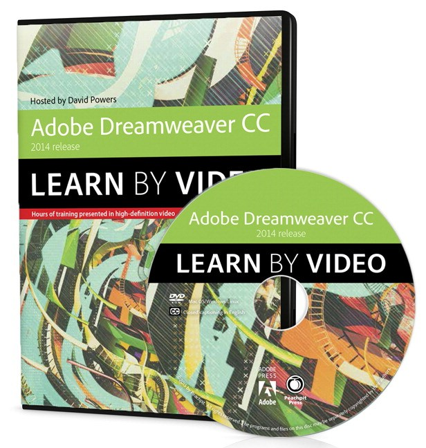 Adobe Dreamweaver CC Learn by Video (2014 release)