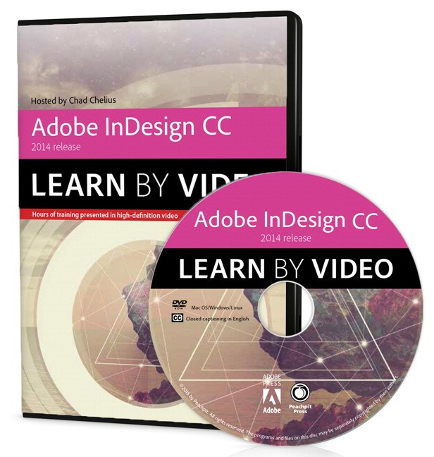 Adobe InDesign CC Learn by Video (2014 release)