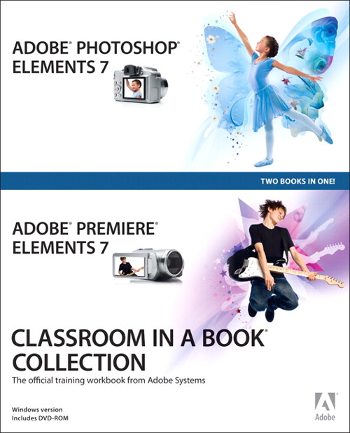 Adobe Photoshop Elements 7 and Adobe Premiere Elements 7 Classroom in a Book Collection, Adobe Reader