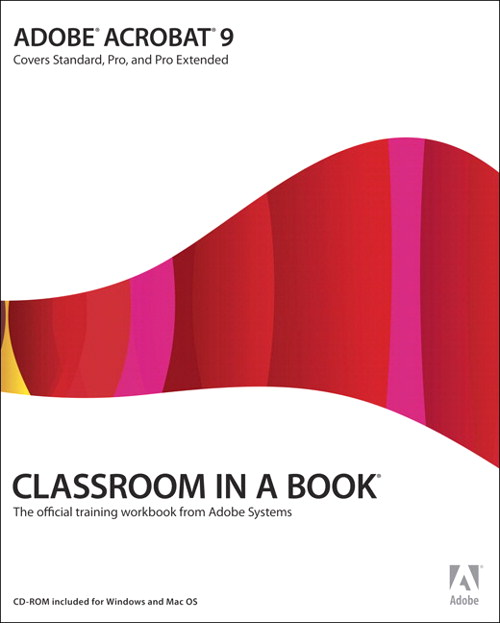 Adobe Acrobat 9 Classroom in a Book, Adobe Reader
