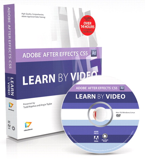 Adobe After Effects CS5: Learn by Video