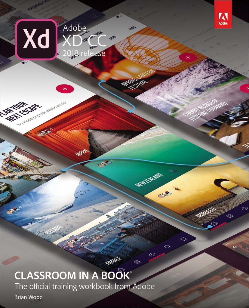 Adobe XD CC Classroom in a Book (2018 release), Web Edition