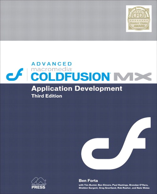 Advanced Macromedia ColdFusion MX Application Development
