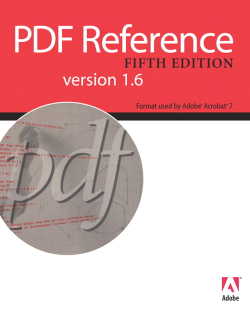 PDF Reference Version 1.6, 5th Edition