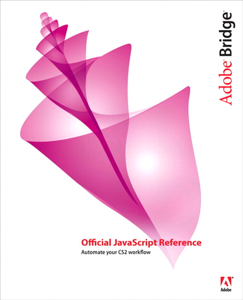 Adobe Bridge Official JavaScript Reference