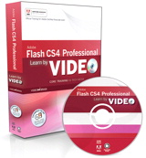 Learn Adobe Flash CS4 Professional by Video: Core Training in Rich Media Communication, Online Video