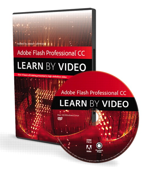 Adobe Flash Professional CC: Learn by Video