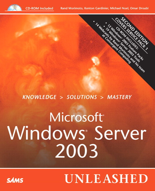 Microsoft Windows Server 2003 Unleashed