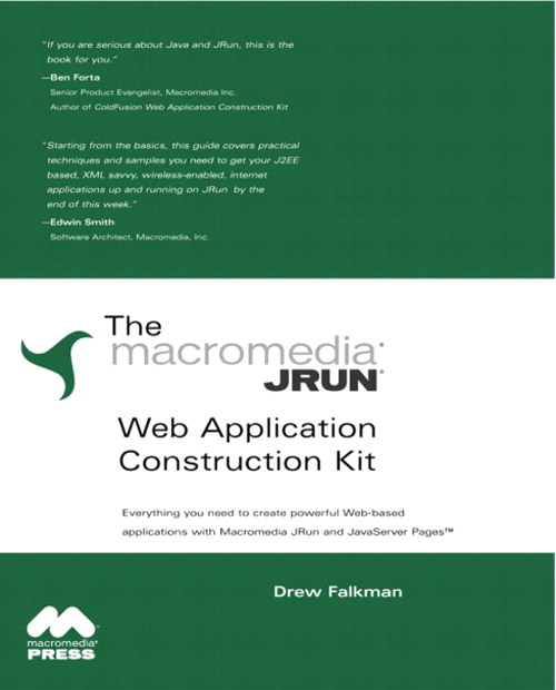 JRun Web Application Construction Kit